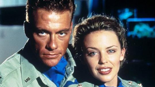 Kylie Minogue a Jean-Claude Van Damme.