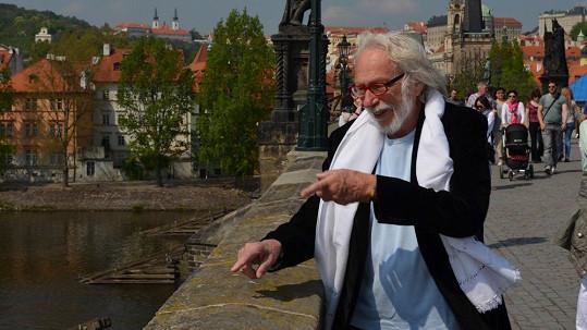 Pierre Richard v Praze