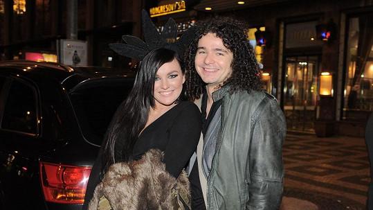Ewa s přítelem Martinem Chobotem