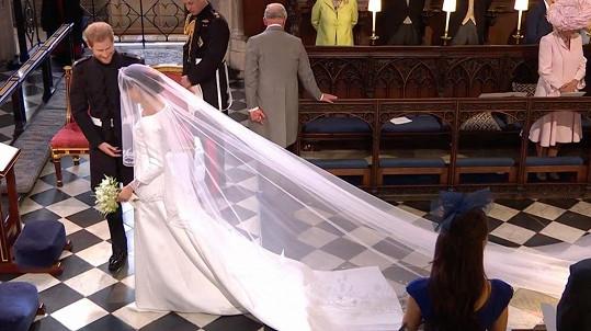 Meghan se stala manželkou Harryho.