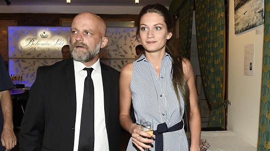 Hynek Čermák s manželkou Veronikou
