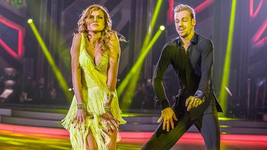 Gabriela Koukalová a Martin Prágr opět tančili sambu.