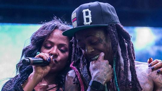 Christina Milian a Lil Wayne spolu ještě minulý měsíc vystupovali na festivalu.