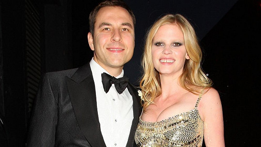 Lara Stone a David Walliams