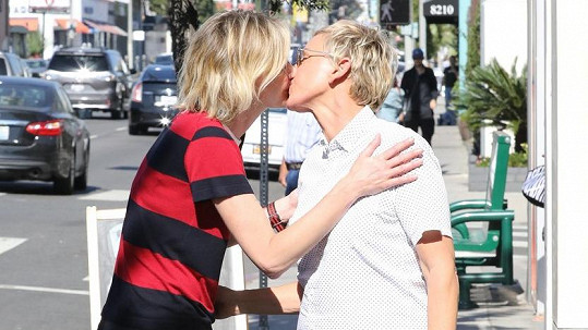 Slavné manželky Ellen DeGeneres a Portia de Rossi