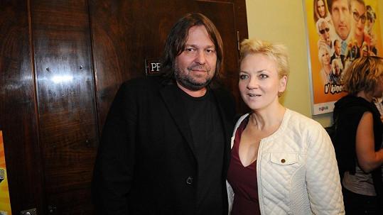 Jiří Pomeje s Kateřinou Hamrovou