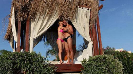 Roman a Eva Šebrlovi na exotické dovolené