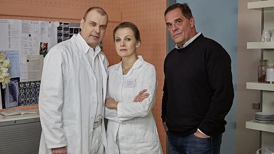 Miroslav Etzler s Michaelou Badinkovou a Petrem Rychlým