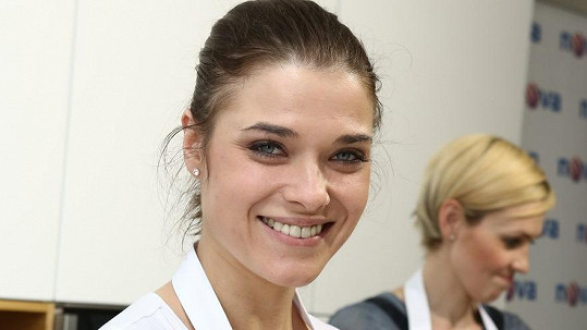 Irena Máchová se raduje z prvního děťátka.