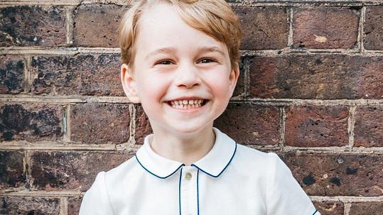 Princ George slaví páté narozeniny.