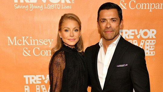 Kelly Ripa a Mark Consuelos