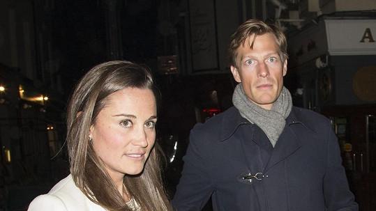 Nico Jackson a Pippa Middleton.