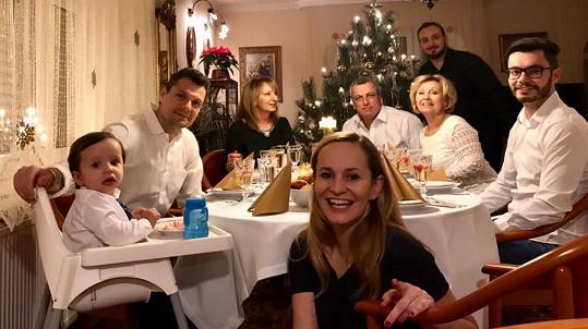 Monika Absolonová si o Vánocích ráda dopřává hodně jídla.