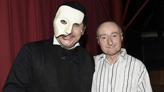 Josef Šimánek s Marianem Vojtkem