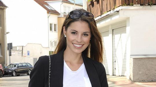 Tereza Budková je jako modelka žádaná ve Španělsku.