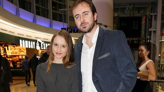 Miroslav Hrabě s přítelkyní Terezou