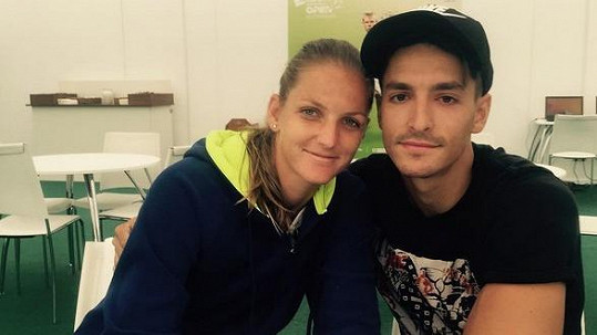 Karolína Plíšková a Michal Hrdlička jsou stále pár, tvrdí moderátor.
