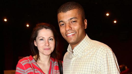 Rey Koranteng s manželkou