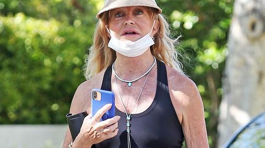 Goldie Hawn je aktivní žena.