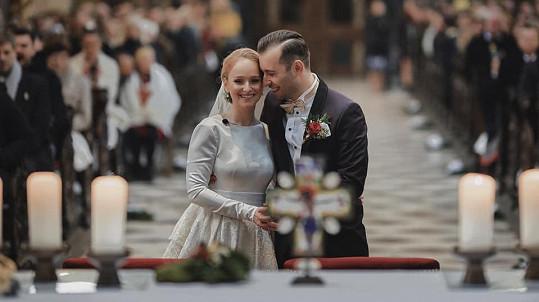 Tereza Vágnerová se pochlubila svatebními fotkami.
