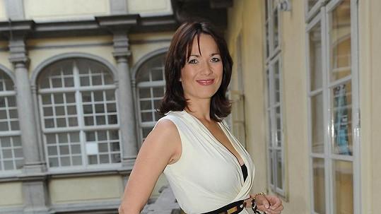 Tereza Kostková má nádhernou postavu.
