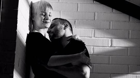 Marek Dědík s přítelkyní Terezou