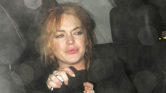 Lindsay má opravdu vysoké cíle.