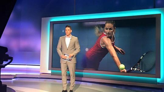 Michal Hrdlička ve Sportovních novinách informuje o Karolíně Plíškové