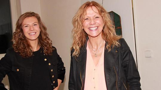 Lenka Filipová se svou dcerou Lenny vypadají spíše jako sestry.