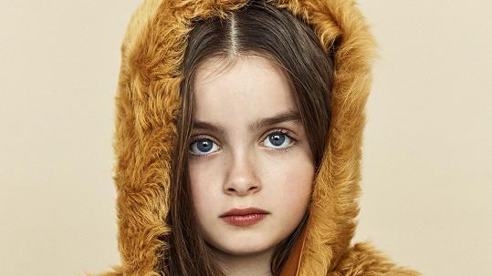 Natálka Fuxová v roli modelky