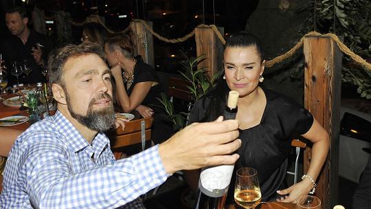 Mahulena Bočanová a Karel Janeba už netvoří pár.