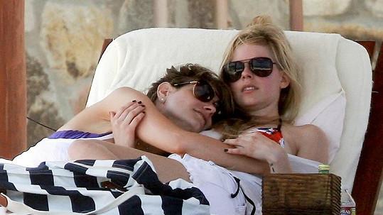 Avril Lavigne a její tajemná přítelkyně.