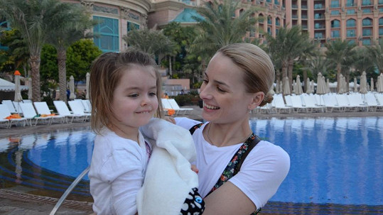 Markéta Divišová s dcerou Natálkou