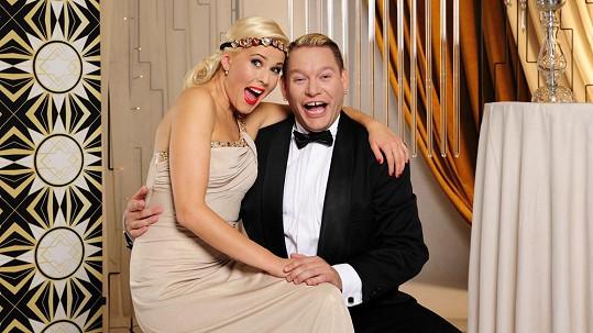 Matěj Ruppert má štěstí, že jeho partnerka Alice Stodůlková měří jako on pouhých 170 centimetrů.