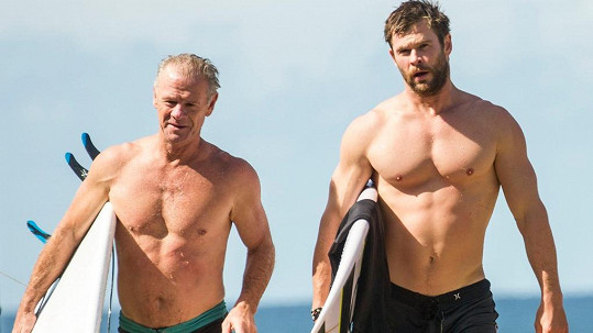 Chris Hemsworth s tatínkem Craigem
