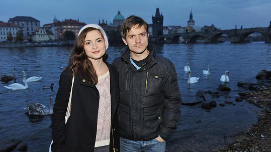 Eva Josefíková a Jiří Mádl