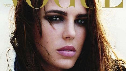Charlotte Casiraghi na obálce časopisu Vogue.