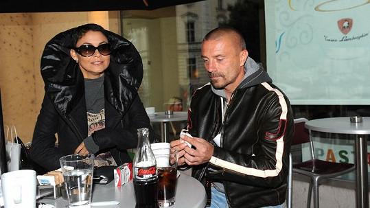 Vlaďka Erbová s přítelem Tomášem Řepkou.