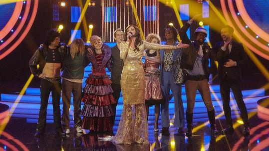 Poslední díl show Tvoje tvář má známý hlas opanovala Ivana Chýlková jako Conchita Wurst.
