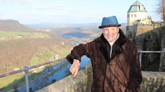 Karel Gott byl o Velikonocích v Saském Švýcarsku.