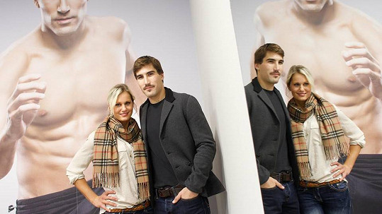 David Svoboda a jeho přítelkyně Denisa