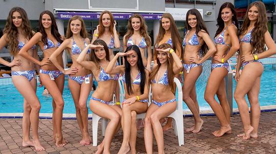 Semifinalistky Miss léta. Líbí se vám?