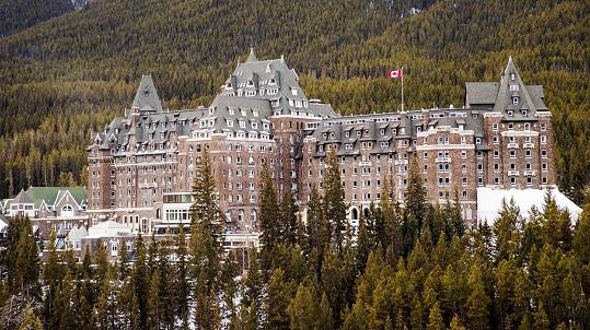Hotel Fairmont Banff Springs má duchů hned několik.