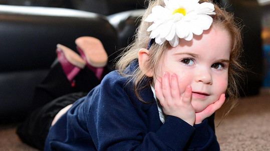 Malá Scarlett touží stát se baletkou...