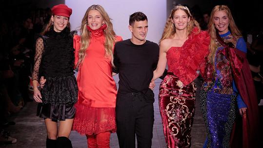 O Česku bylo na newyorském fashion weeku hodně slyšet.