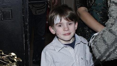 Filip Antonio se zranil při premiéře muzikálu Vánoční zázrak.