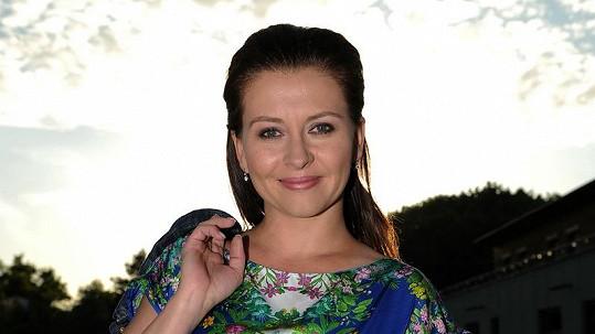 Dana Morávková ukázala víc, než chtěla. Více ve fotogalerii.