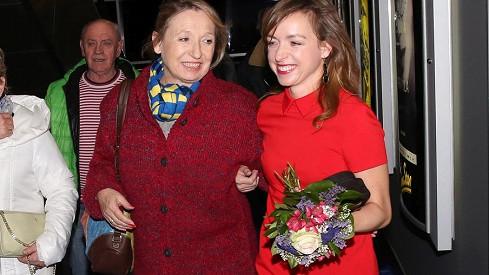 Tatiana Vilhelmová s maminkou