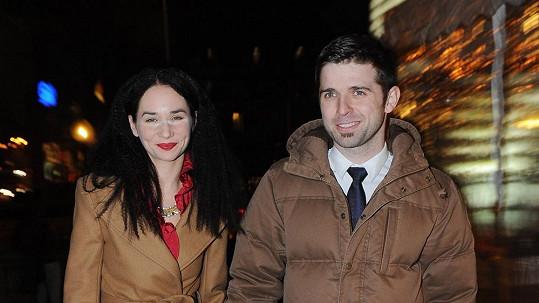 Sandra Nováková s přítelem Vojtěchem Moravcem