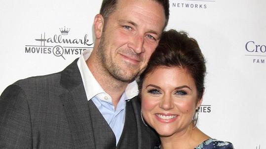 Tiffani Thiessen s manželem